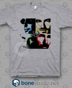 Pop U2 Band T Shirt