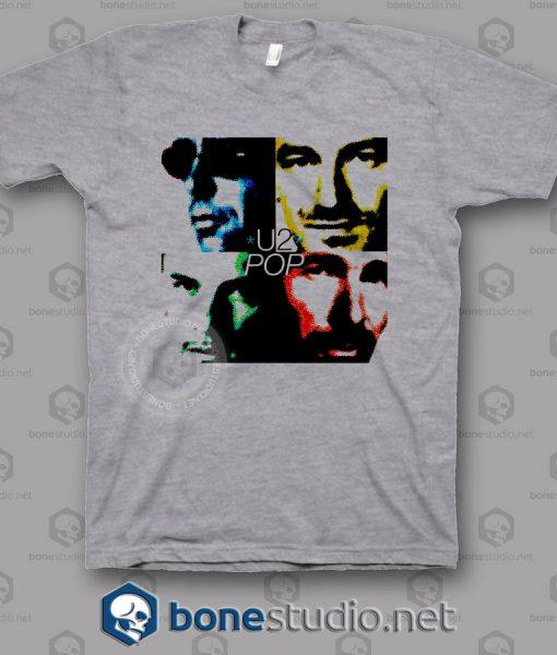Pop U2 Band T Shirt