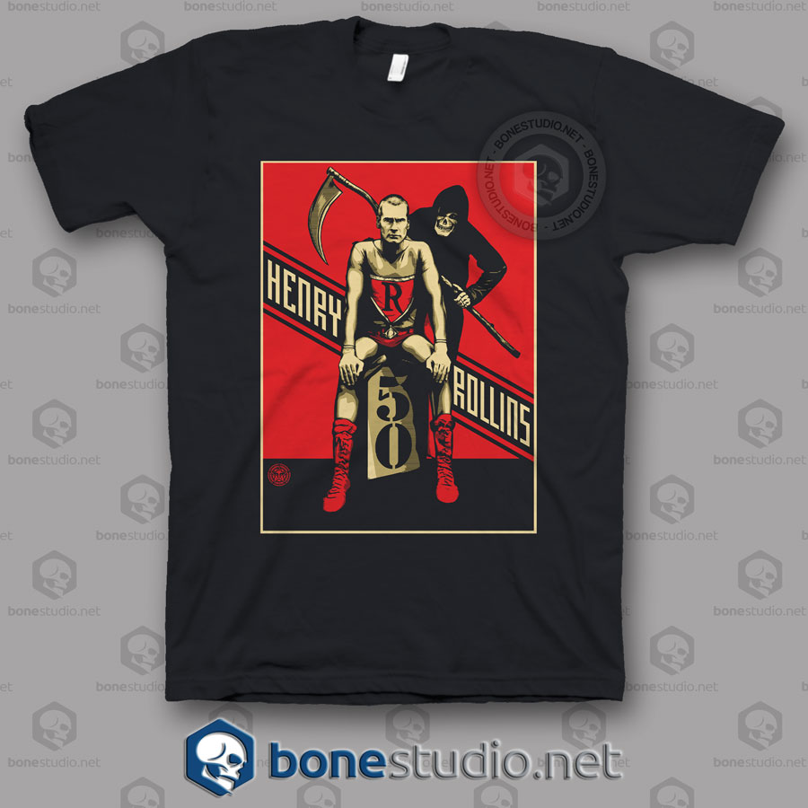 Reaper Henry Rollins Band T Shirt