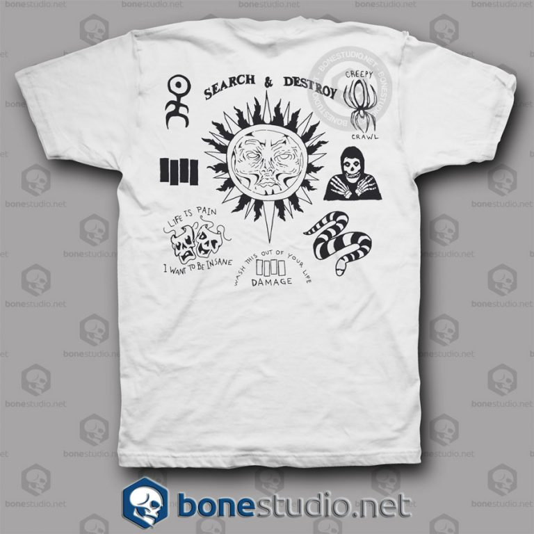 Tatto Henry Rollins Band T Shirt