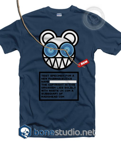 Test Specimen Radiohead Band T Shirt