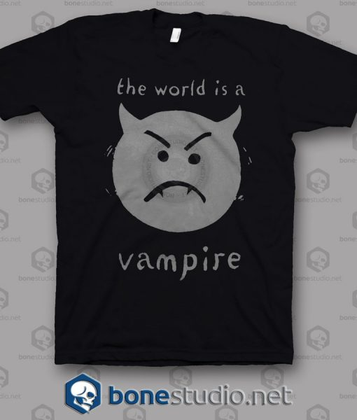The World Is A Vampire Smashing Pumpkins T Shirt