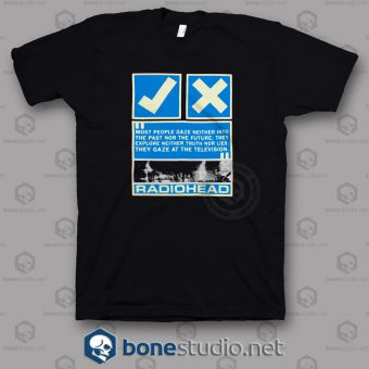 Tv Gaze Radiohead Band T Shirt