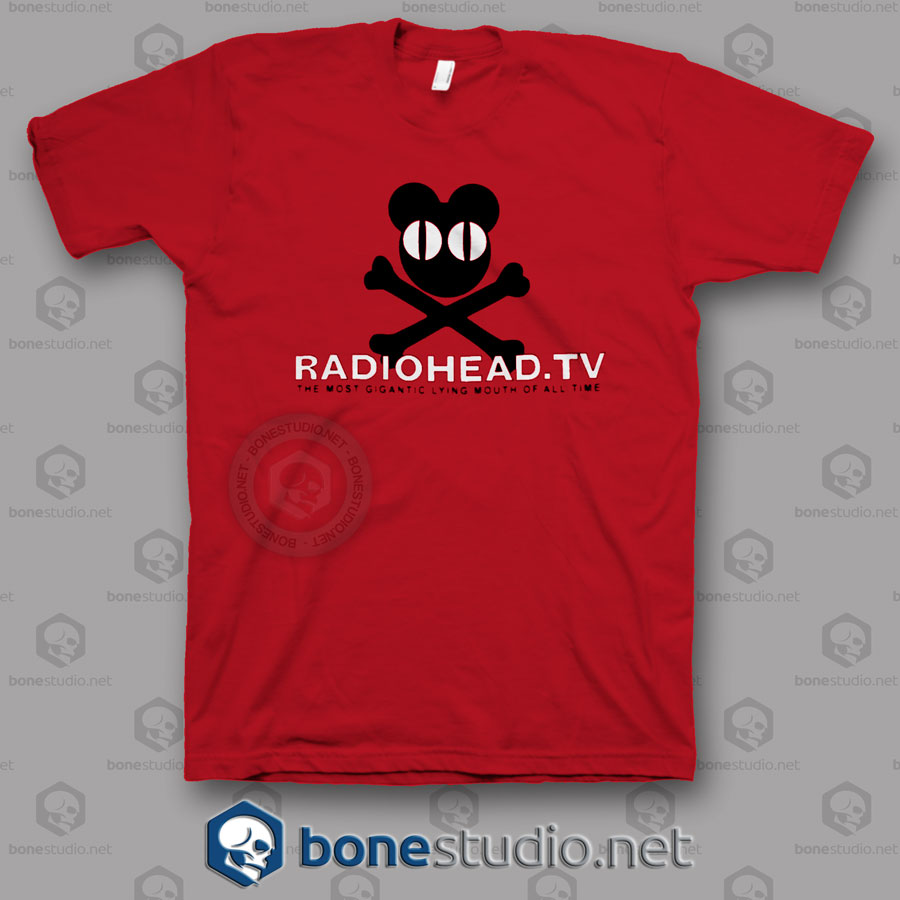 Tv Radiohead Band T Shirt