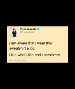Tyler Joseph Tweet Twenty One Pilots T Shirt