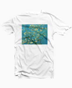 Van Gogh Aesthetic T Shirt Flower Art