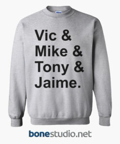 Vic Mike Tony Jaime Sweatshirt sport grey