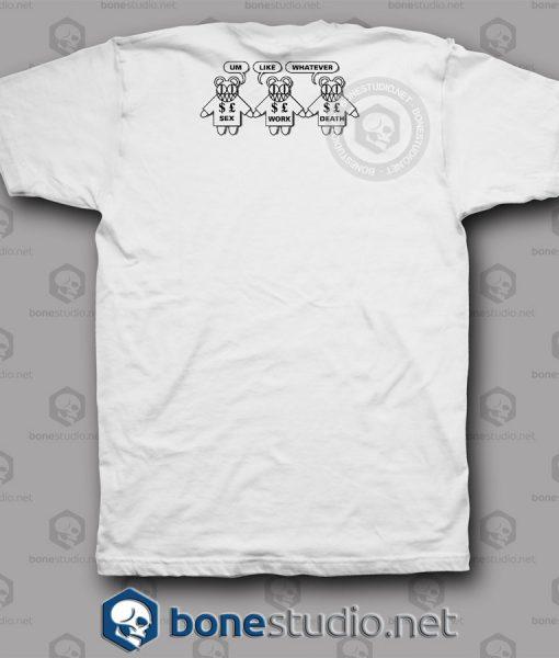 Volcano Erupts Radiohead Band T Shirt