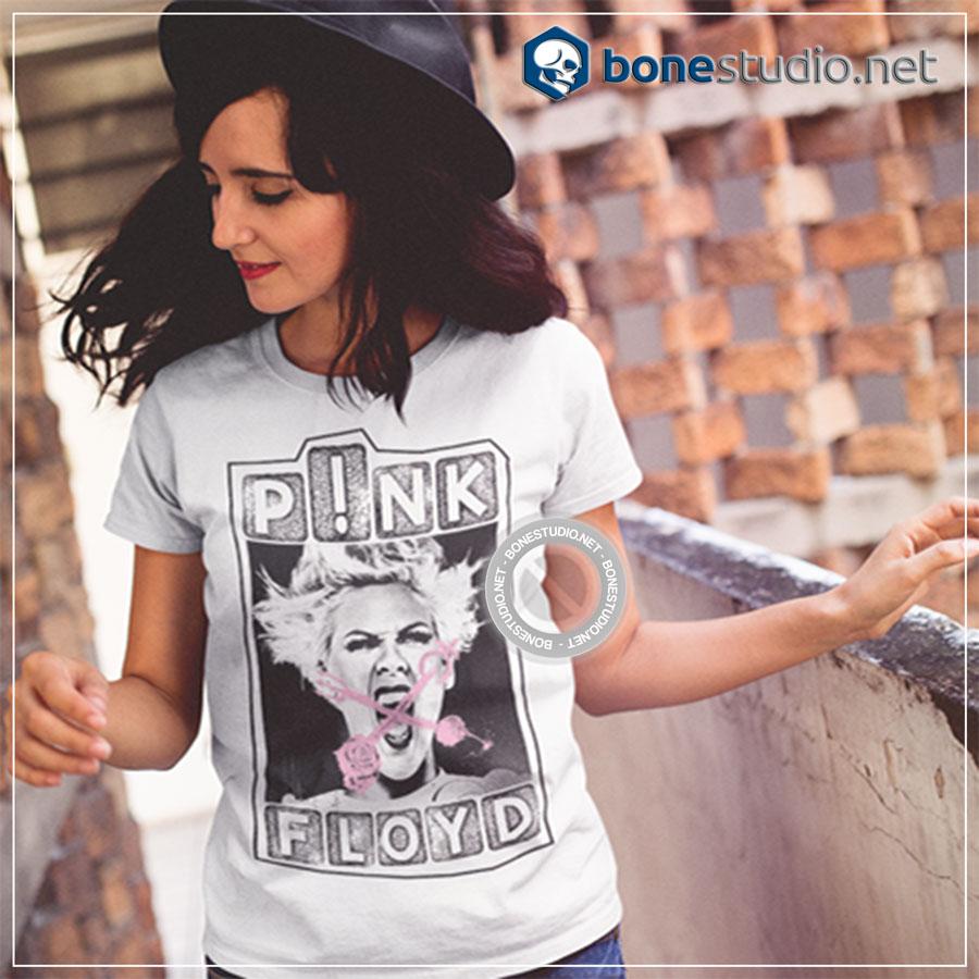 Naughty Floyd Pink T Shirt