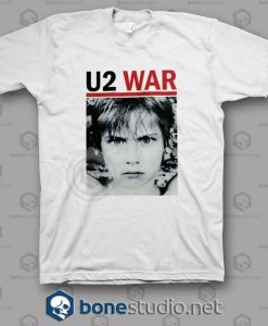 War U2 Band T Shirt