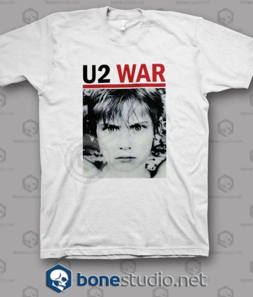 War U2 Band T Shirt