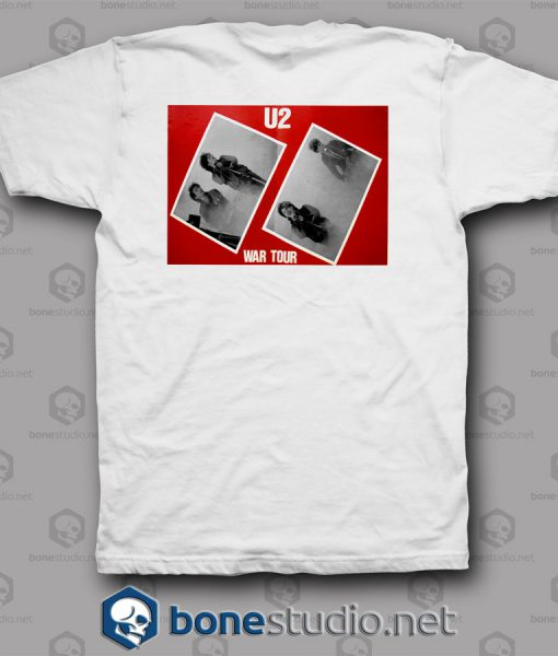 War Tour U2 Band T Shirt