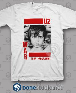 War Tour U2 Band T Shirt