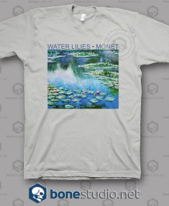 Water Lilies Monet T Shirt