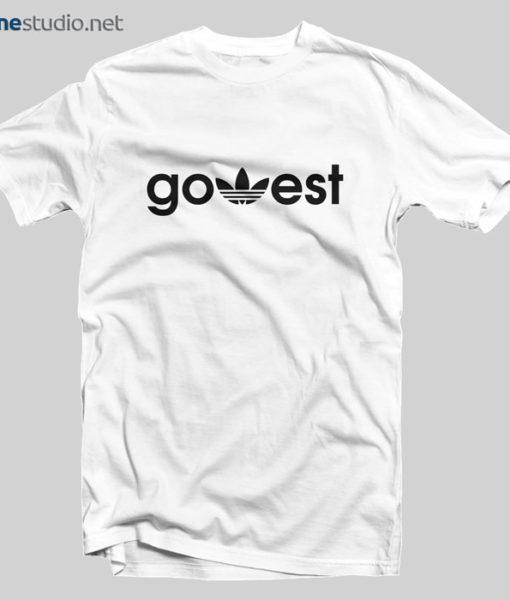 Go West Adidas Funny T Shirt