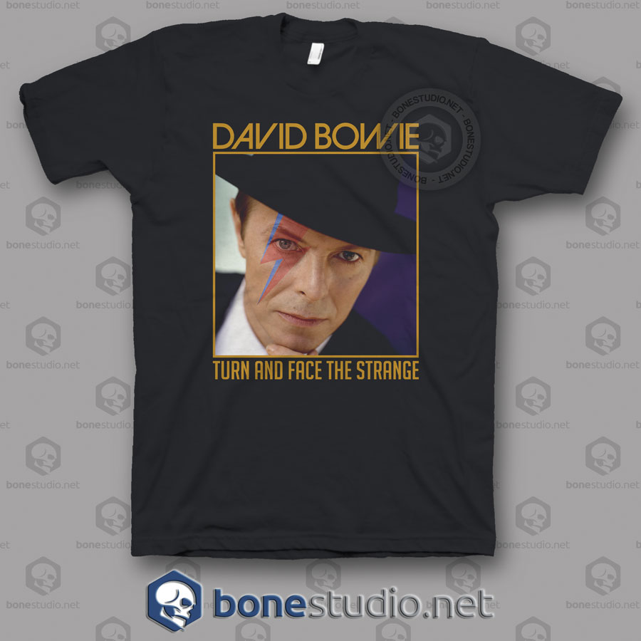 David Bowie Quote T Shirt