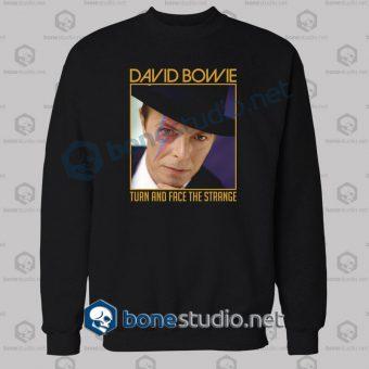 David Bowie Quote Sweatshirt