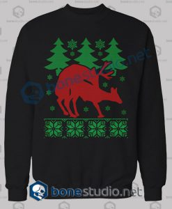 Deer Naughty Christmas Sweatshirt