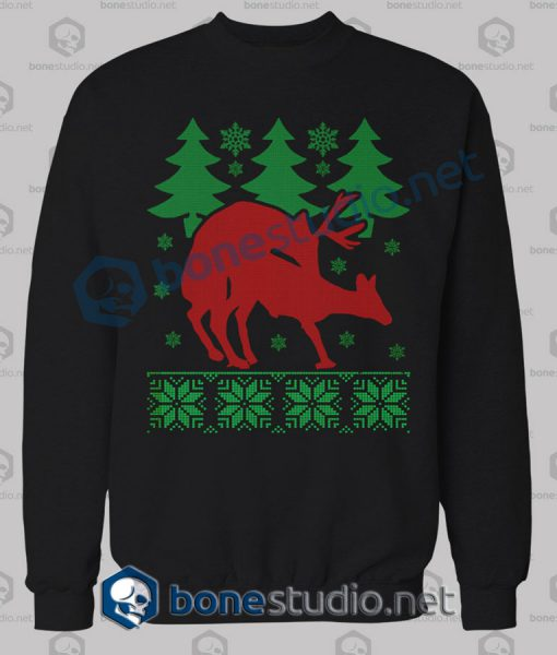 Deer Naughty Christmas Sweatshirt
