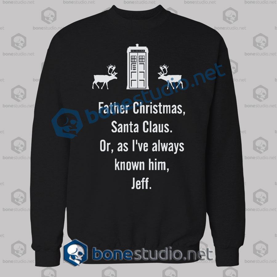Father Christmas Santa Claus Christmas Sweatshirt