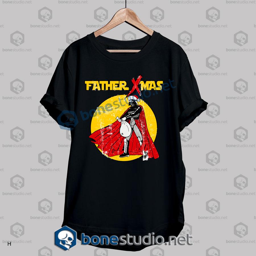 Funny Star Wars Father Xmas Christmas T Shirt