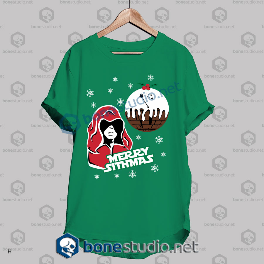 funny star wars merry sithmas christmas t shirt