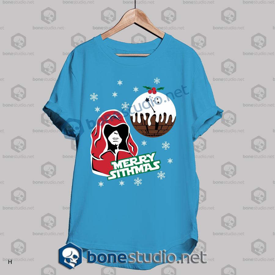 funny star wars merry sithmas christmas t shirt