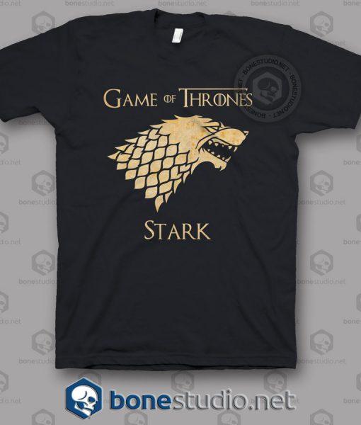 Game Of Thrones Stark Grunge T Shirt