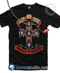 Appetite For Destruction Guns N Roses Band T Shirt