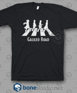 Galileo Road Abbey Road Funny T Shirt