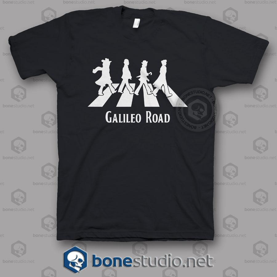 Galileo Road Abbey Road Funny T Shirt
