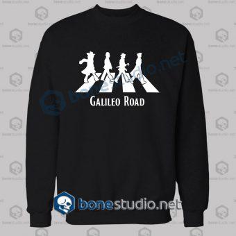Galileo Road Abbey Road Funny Sweatshirt