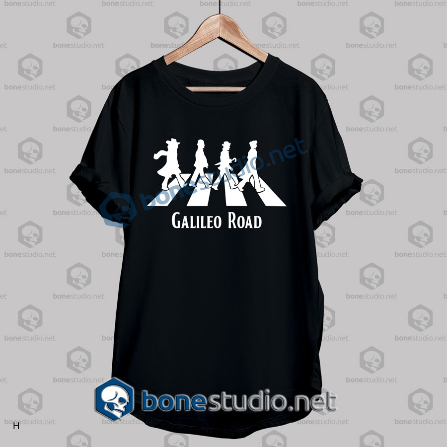 Galileo Road The Beatles Abbey Road Funny T Shirt