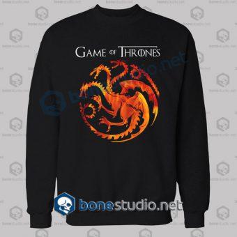 Game Of Thrones Dragon Sweatshirt