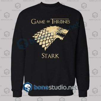 Game Of Thrones Stark Grunge Sweatshirt