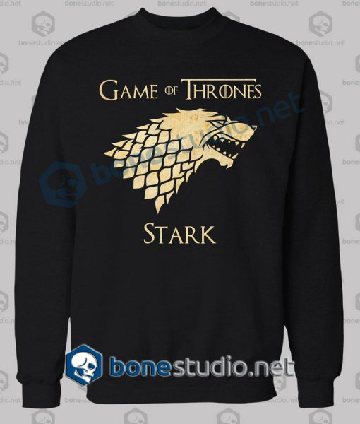 Game Of Thrones Stark Grunge Sweatshirt