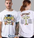 Distressed 1989 Tour Guns N Roses Band T Shirt