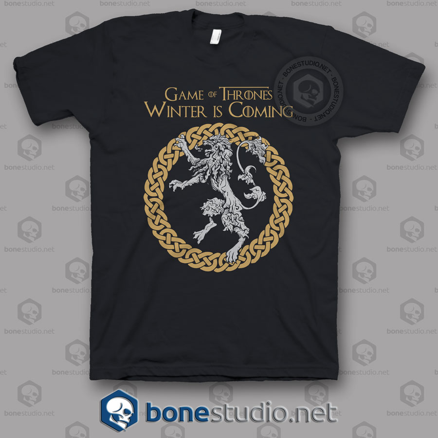 game of thrones circle t shirt