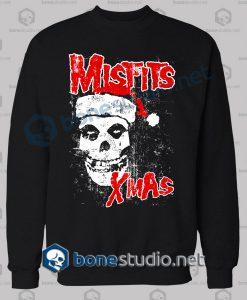 Halloween Misfits Xmas Funny Sweatshirt