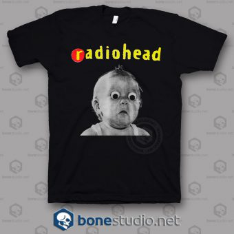 Pablo Honey Tour Radiohead Band T Shirt