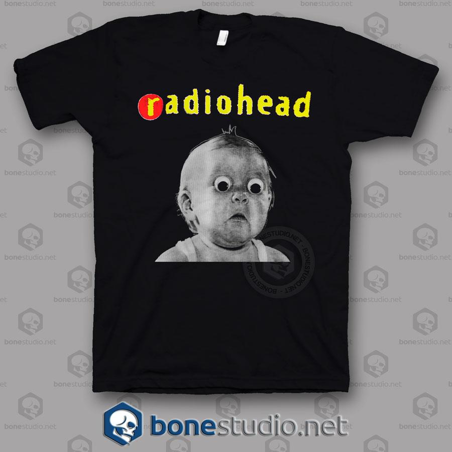 Pablo Honey Tour Radiohead Band T Shirt