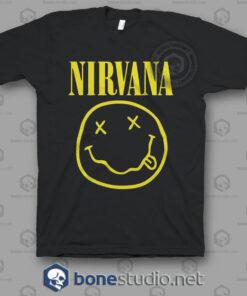 Nirvana Band T Shirt