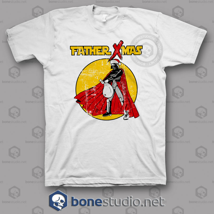 Funny Star Wars Father Xmas Christmas T Shirt