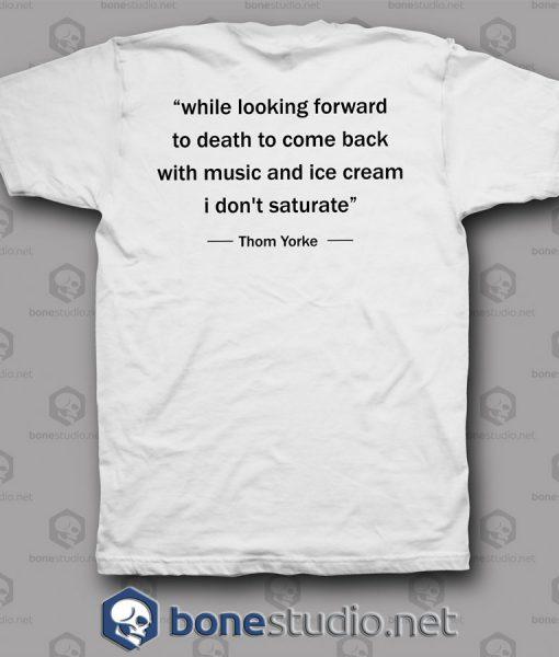 RadioHead Thom Yorke Band T Shirt