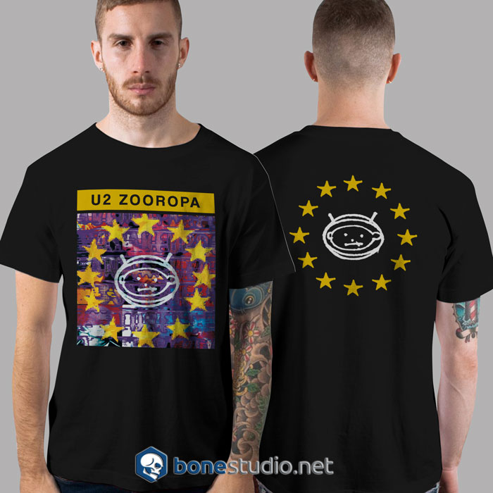 Zooropa U2 Band T Shirt
