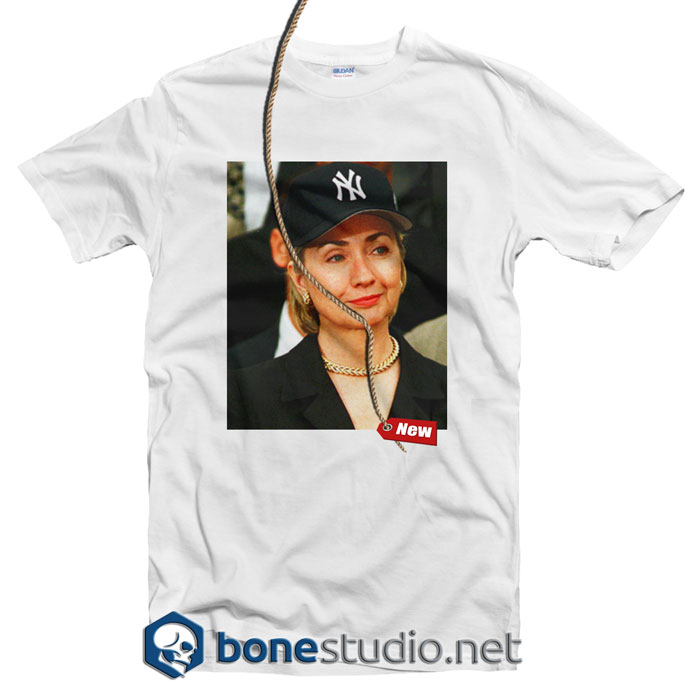 Hillary Clinton Yankees Hat Rihanna T Shirt