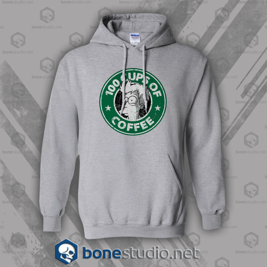 100 Cups Of Coffee Hoodies