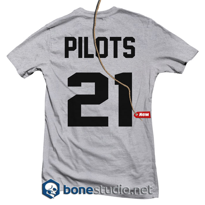 JRSY Twenty One Pilots Band T Shirt