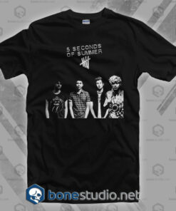 2e2430abc878 5 Seconds Of Summer Band T Shirt · 5 Seconds Of Summer Band T Shirt – Adult  Unisex Size S-3XL