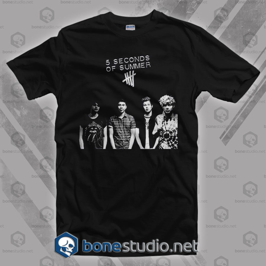 5 Seconds Of Summer Band T Shirt